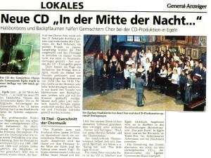 CD In der Mitte