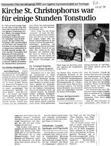 CD Produktion 1997