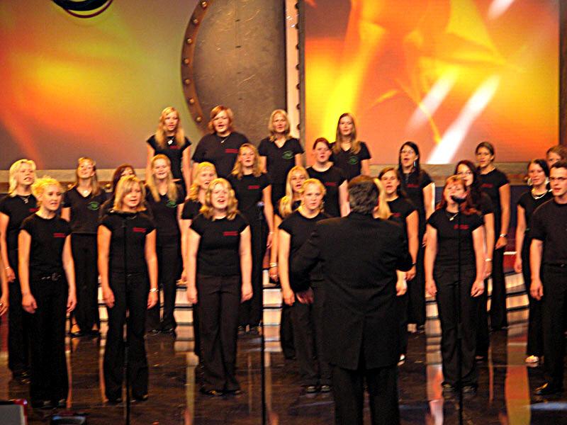 Auftritt beim MDR 2005